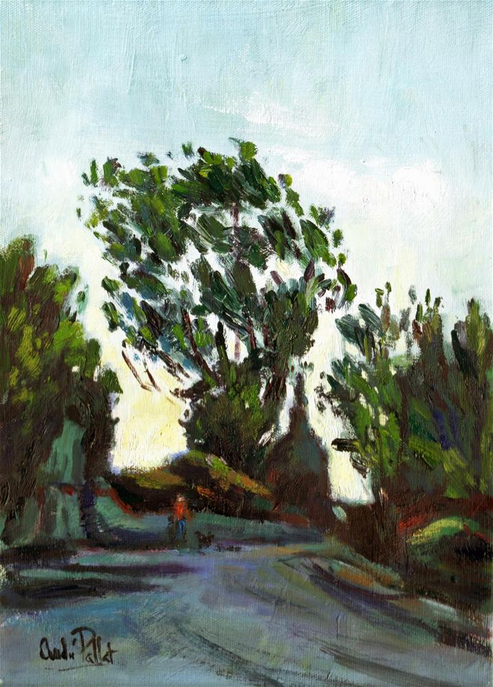 """Lane at Crossbush"" original fine art by Andre Pallat"