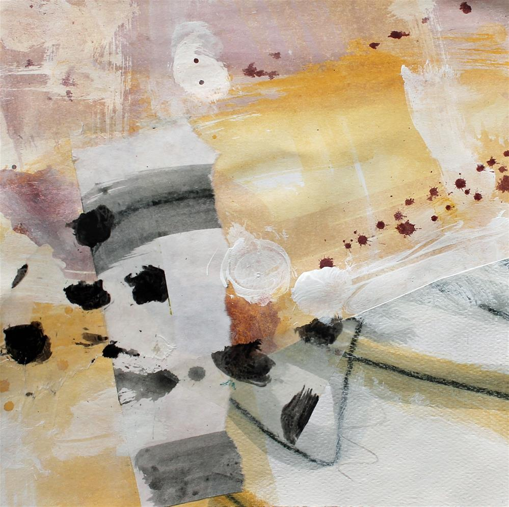 """Fragments Series 01"" original fine art by Sally Tuttle"