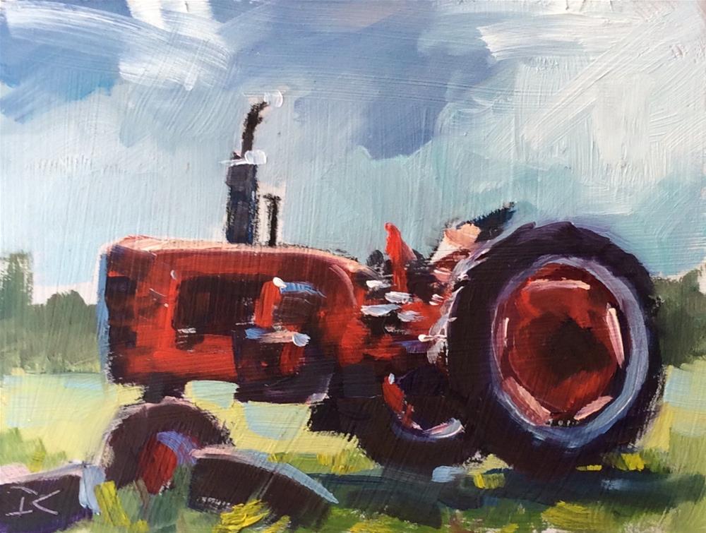 """""""RESTING """" original fine art by Doug Carter"""