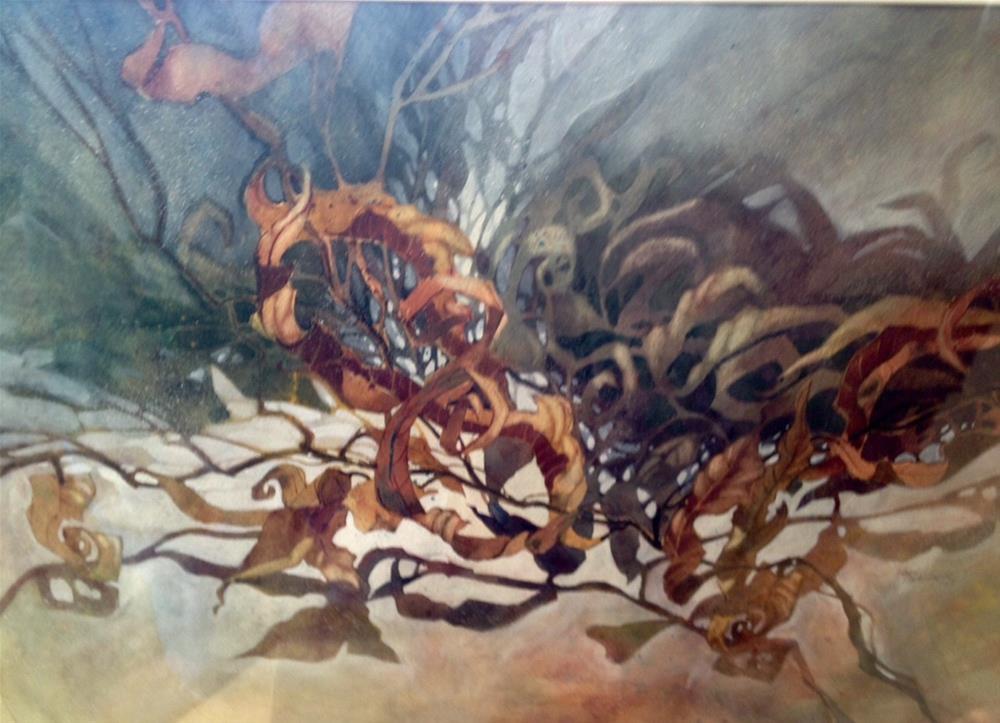 """Curly Fries"" original fine art by Margie Whittington"