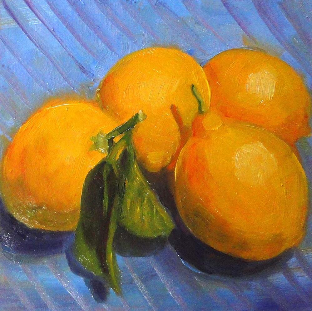 """Lemonade Kit"" original fine art by Cietha Wilson"