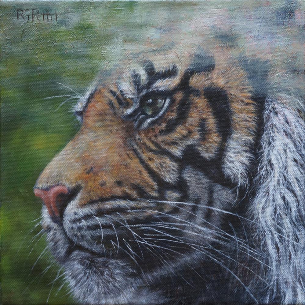 """Disappearing Act"" original fine art by Rhea  Groepper Pettit"