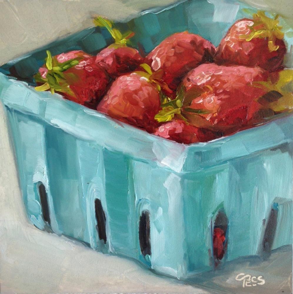 """Strawberry Fields Forever- The Beatles"" original fine art by Tess Lehman"