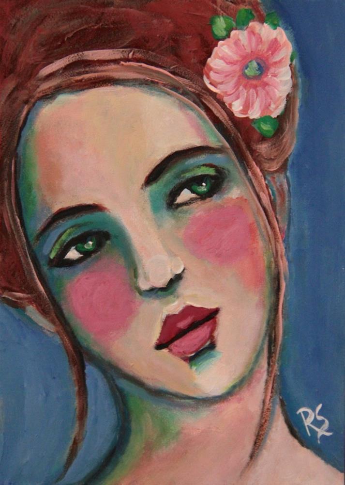 """""""Adalyn"""" original fine art by Roberta Schmidt"""