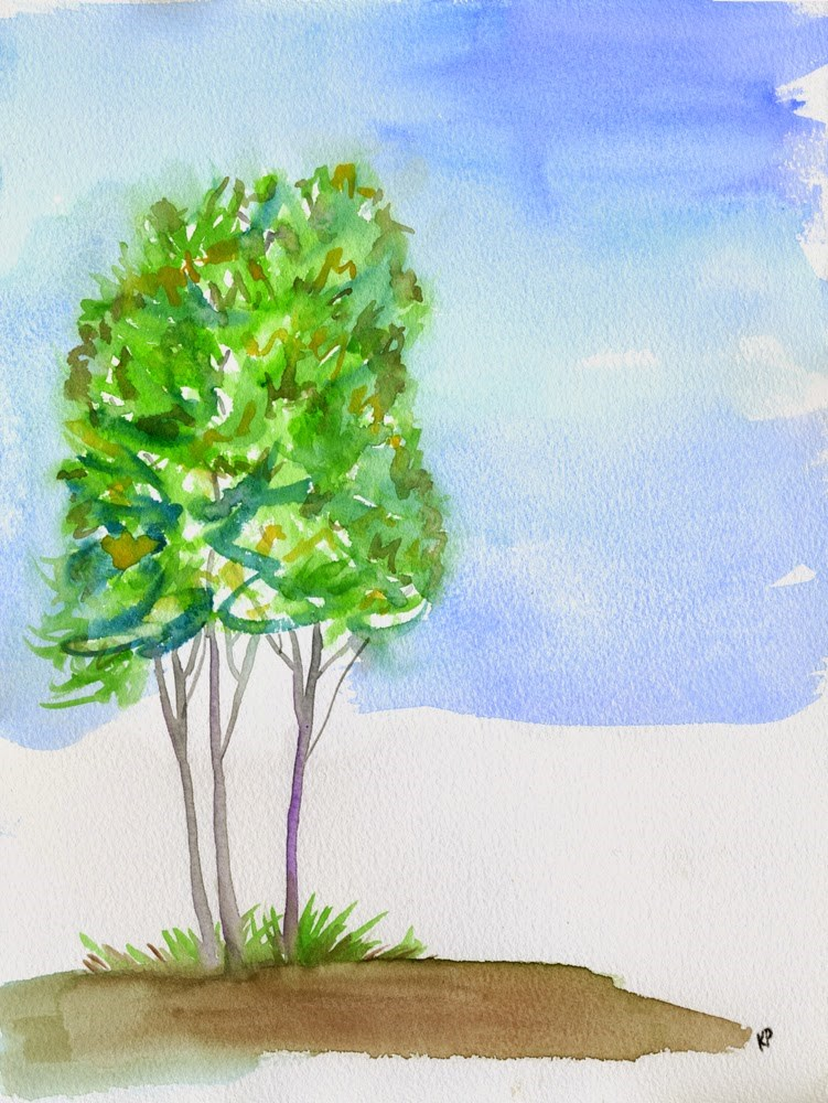 """""""For the Love of Trees"""" original fine art by Kali Parsons"""