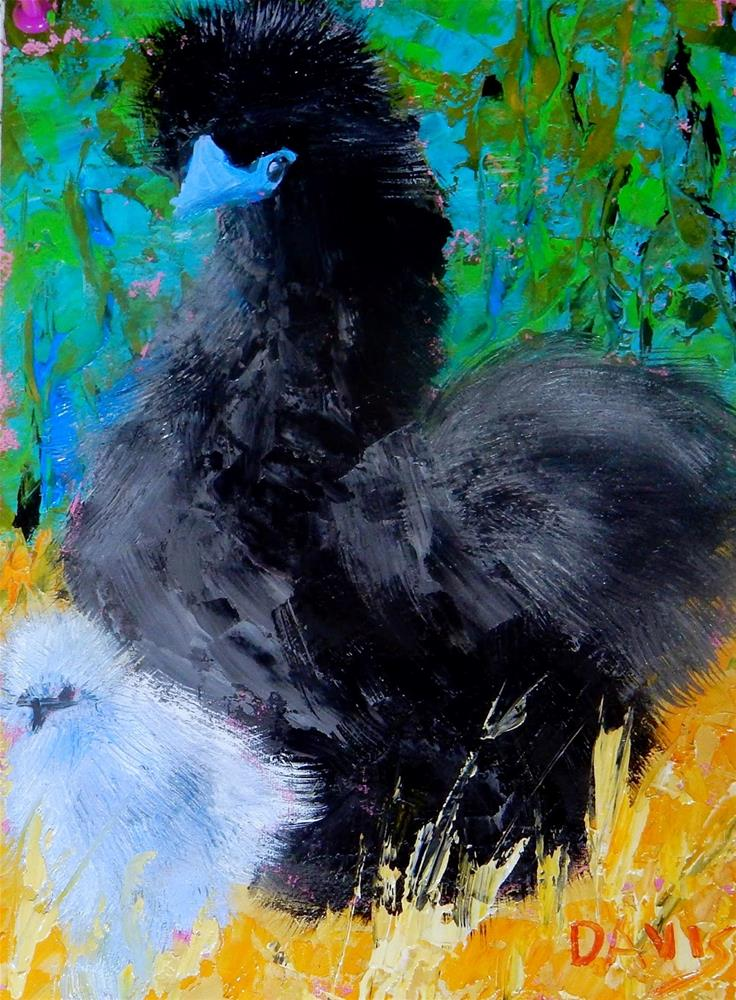 """Proud Mama"" original fine art by Phyllis Davis"