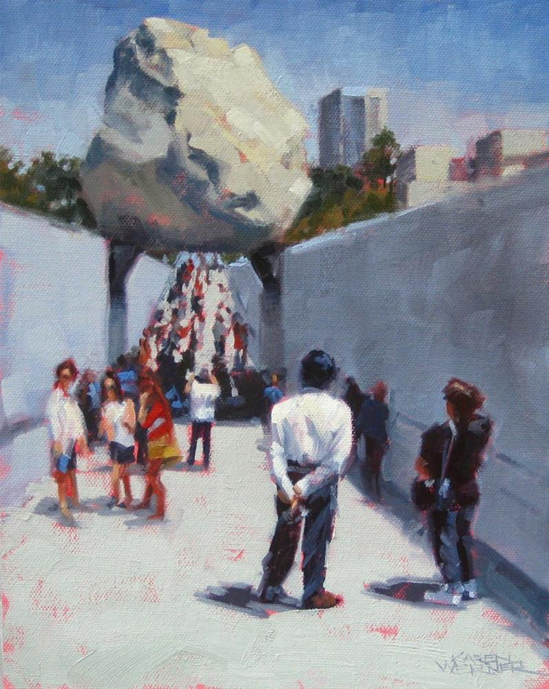"""Mass Contemplation"" original fine art by Karen Werner"