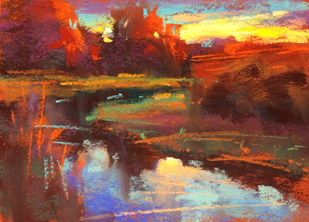 """Evening at Mollala"" original fine art by Marla Baggetta"