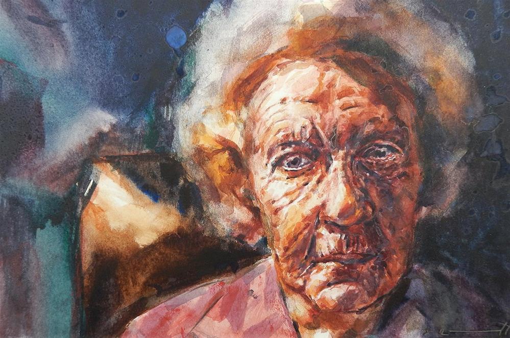 """Lillian"" original fine art by Stephen Ravenscraft"