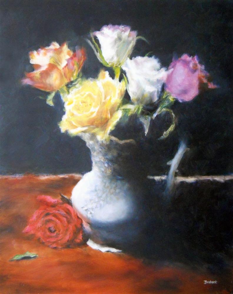 """Drama"" original fine art by Jill Brabant"