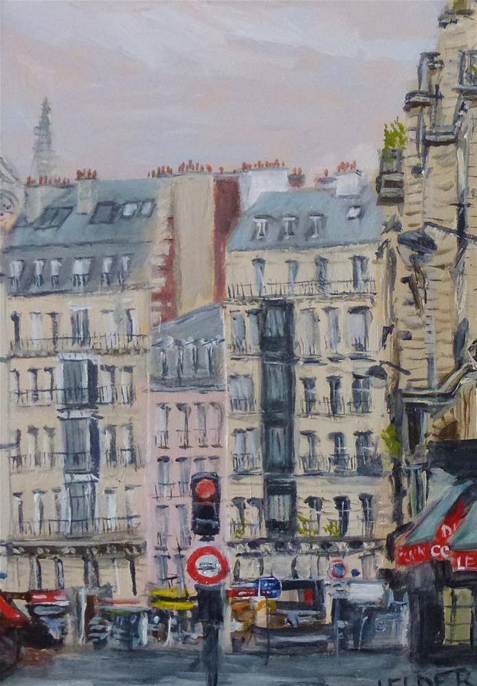 """Paris No 130"" original fine art by Judith Elder"