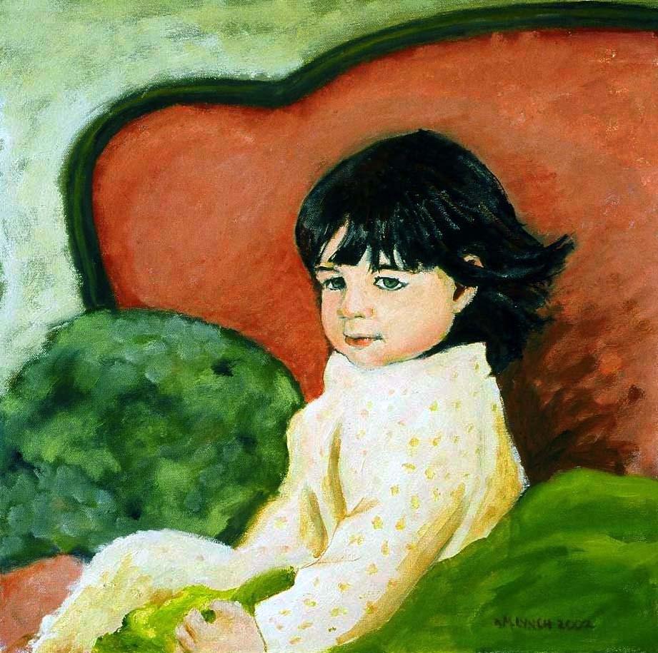 """""""Bedtime"""" original fine art by Marie Lynch"""