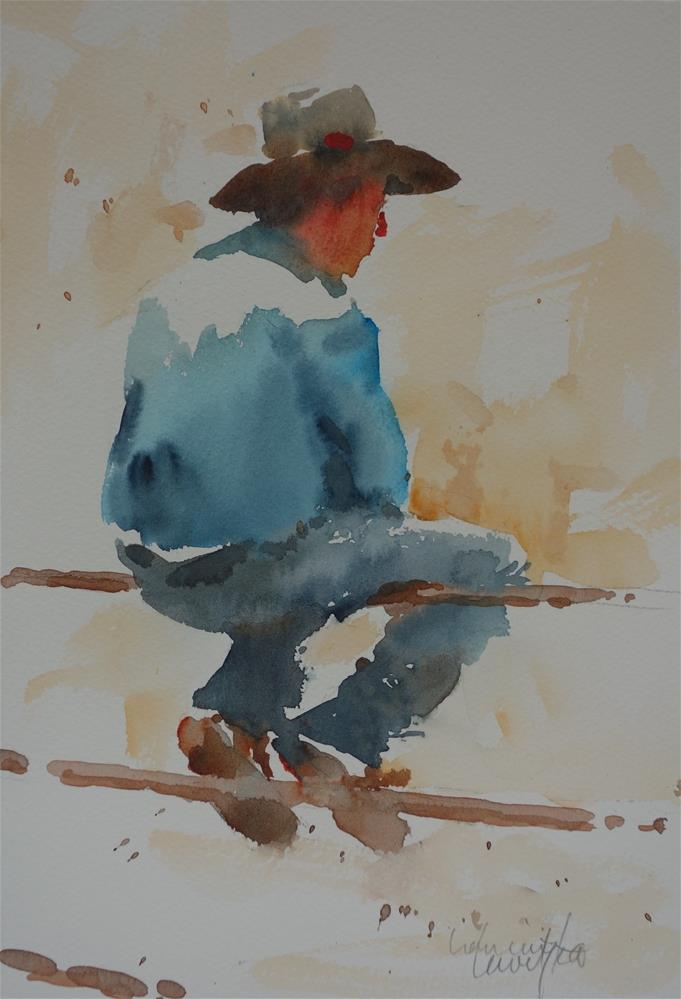 """Rodeo"" original fine art by Lorraine Lewitzka"