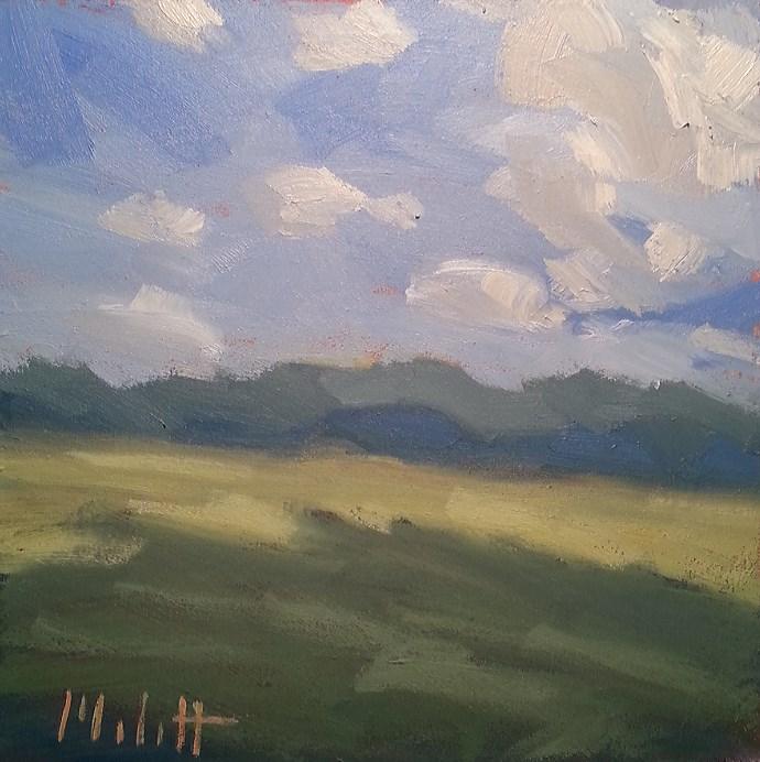 """Contemporary Impressionism Landscape Simplified Original Oil Painting"" original fine art by Heidi Malott"