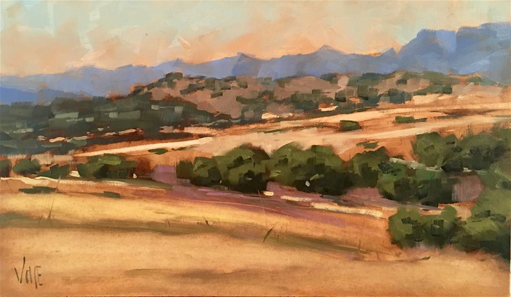 """#340 This Hard Land"" original fine art by Patty Voje"