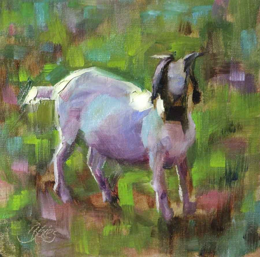 """""""Billy"""" original fine art by Pamela Blaies"""
