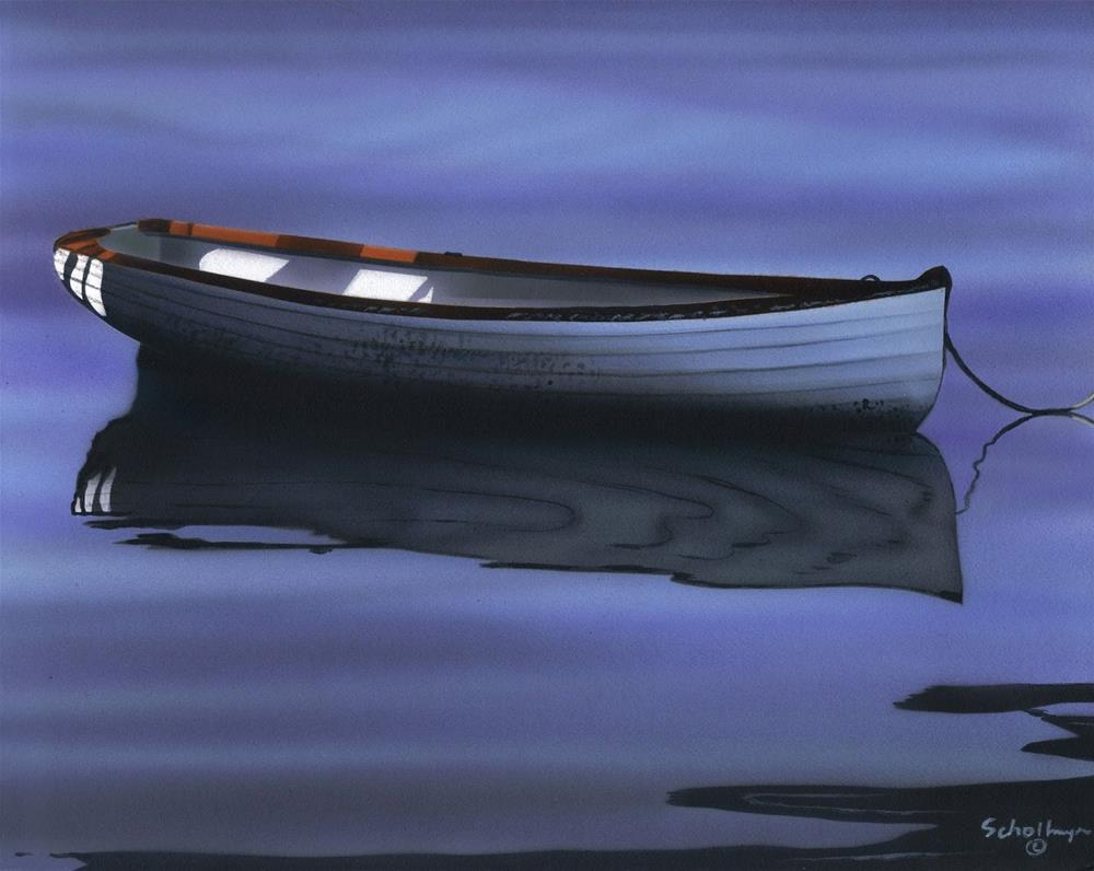 """""""Placid Reflections"""" original fine art by Fred Schollmeyer"""