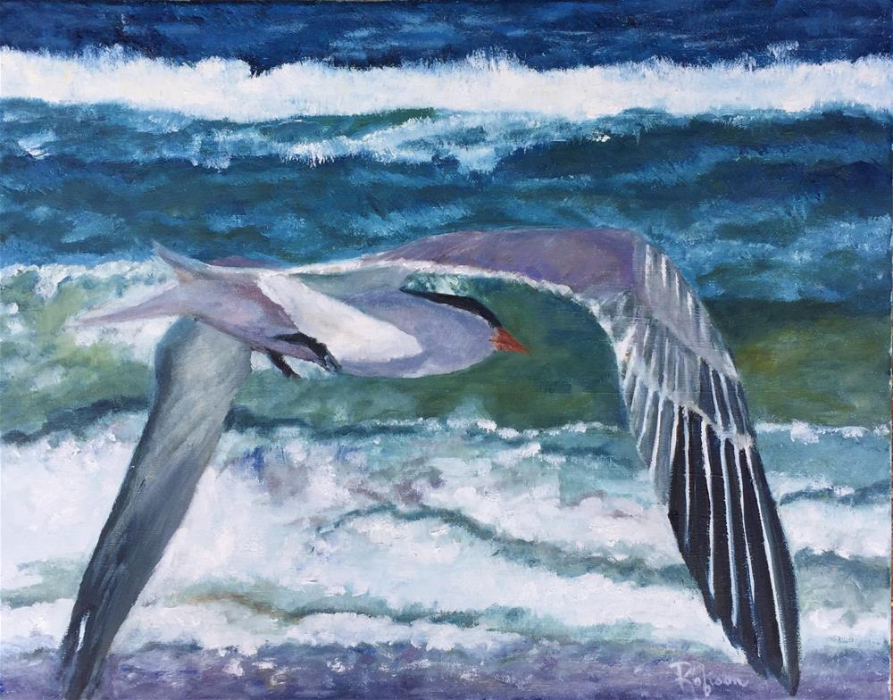 """Birds Eye View"" original fine art by Renee Robison"
