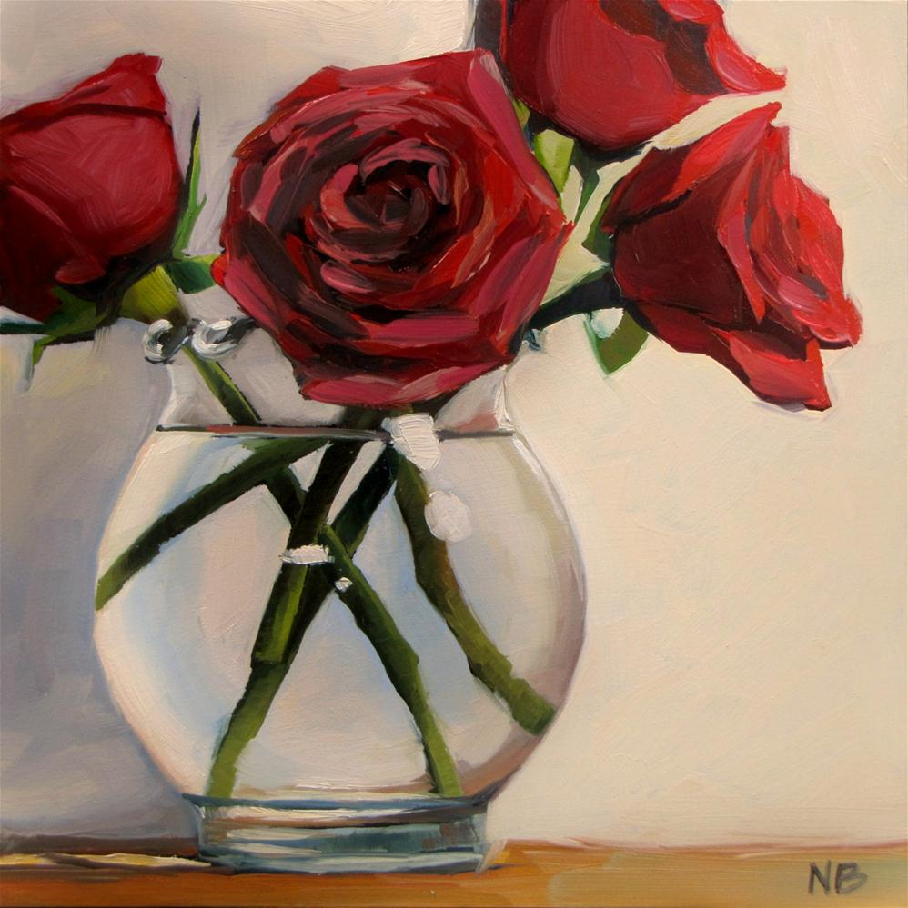"""Stems"" original fine art by Nora Bergman"