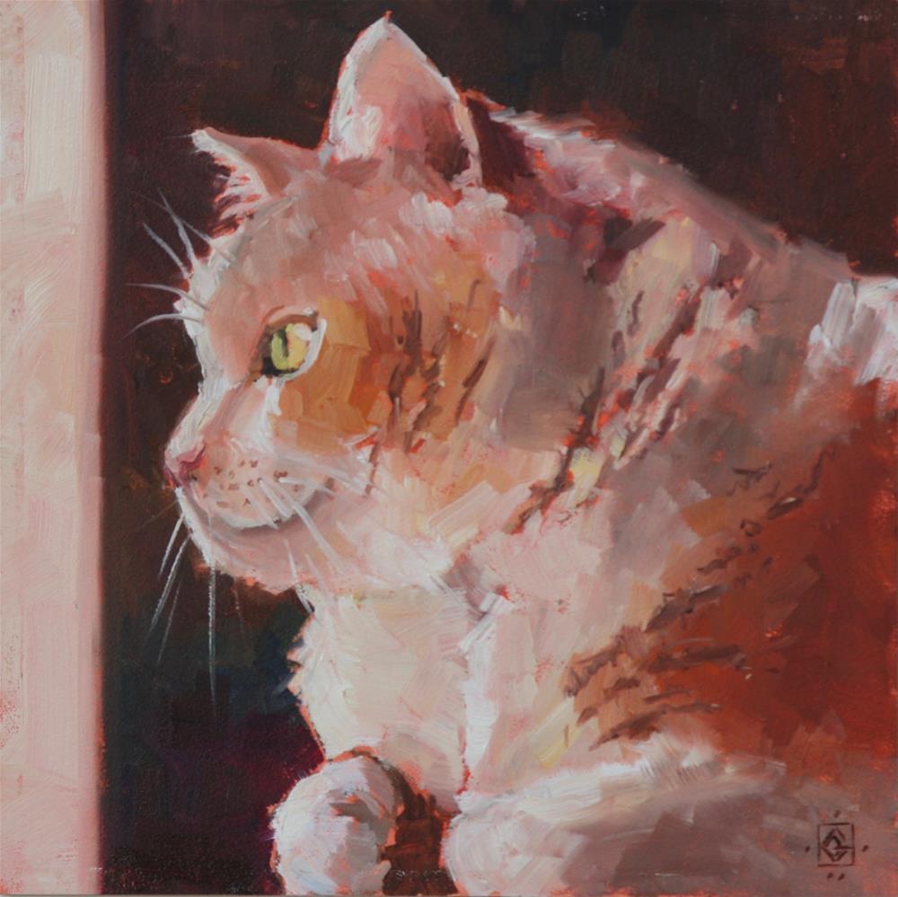 """daydreaming"" original fine art by Carol Granger"