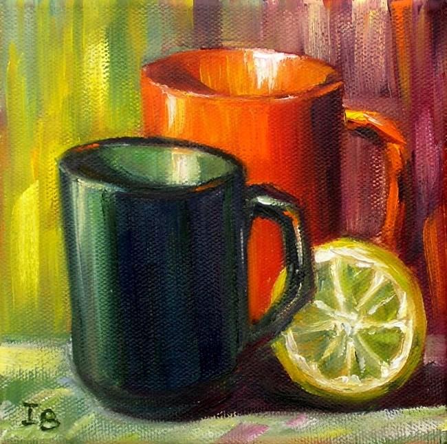 """""""Kitchen Parade"""" original fine art by Irina Beskina"""