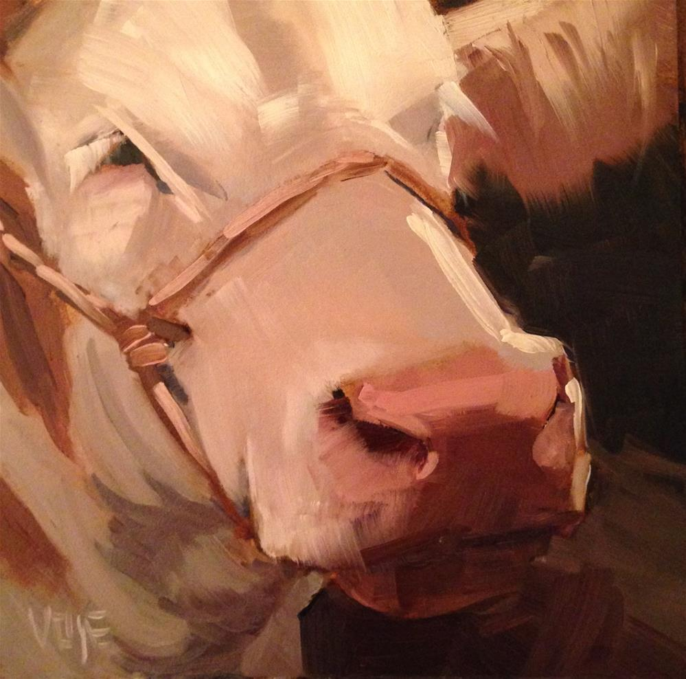 """#140 4H Champion"" original fine art by Patty Voje"