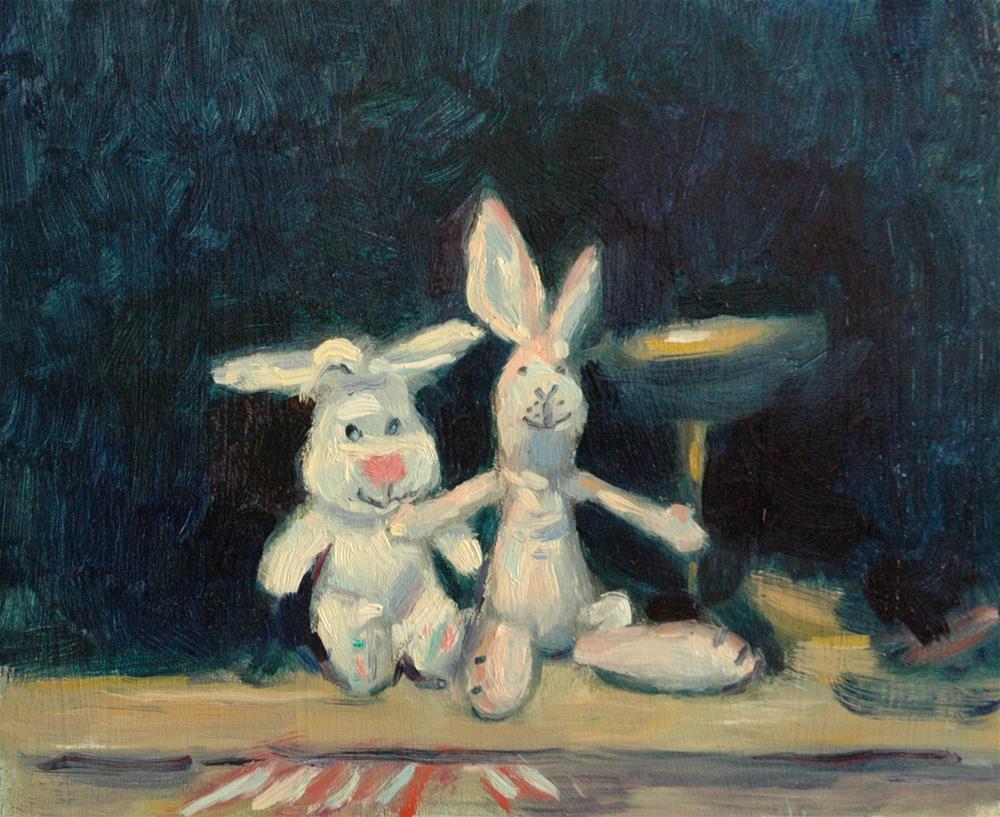 """Soft Toys"" original fine art by Andre Pallat"