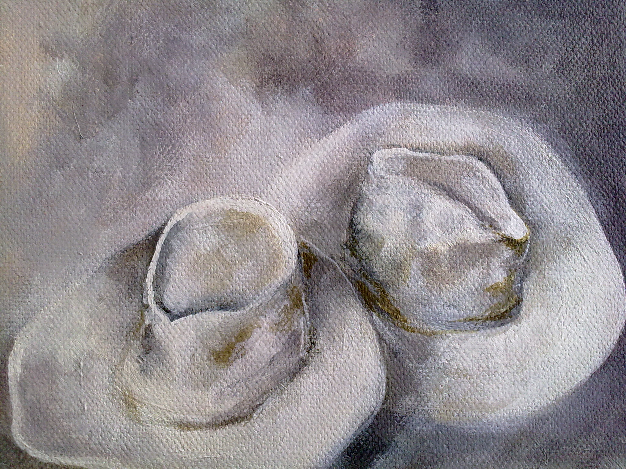 """Hats"" original fine art by Monica Pinotti"
