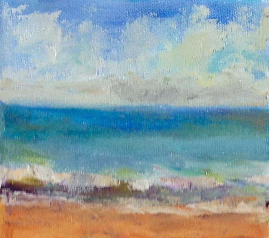 """Keep Dreaming"" original fine art by Maggie Flatley"