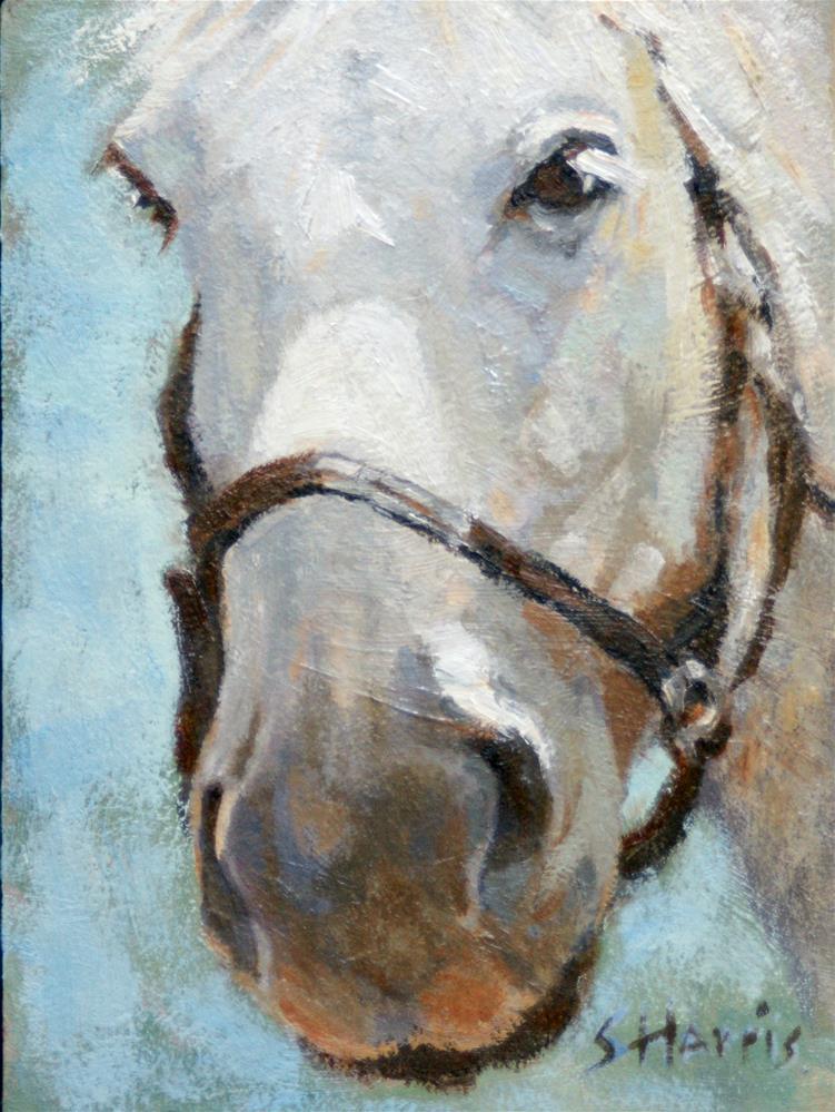 """Grace"" original fine art by Sandra L Harris"