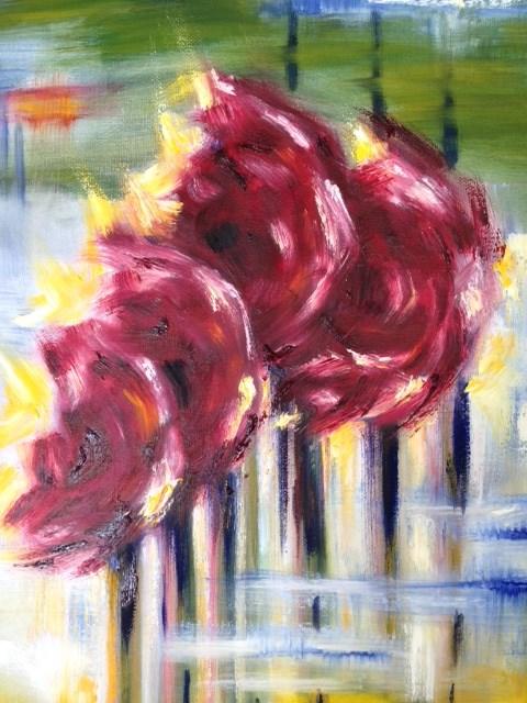 """Blown"" original fine art by Juli Schuster"