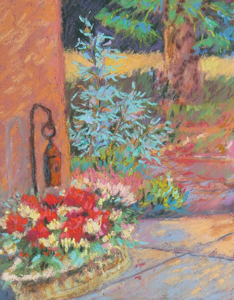 """Garden Flowers"" original fine art by Rhett Regina Owings"