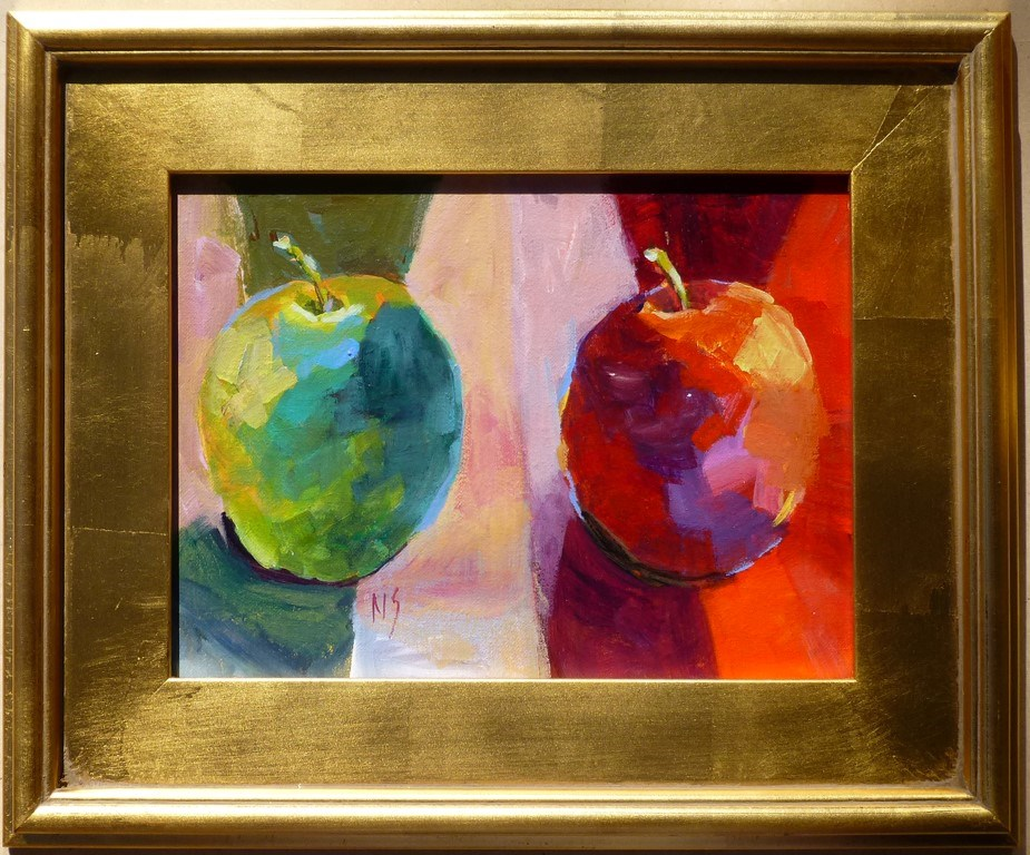 """Apples 14071"" original fine art by Nancy Standlee"