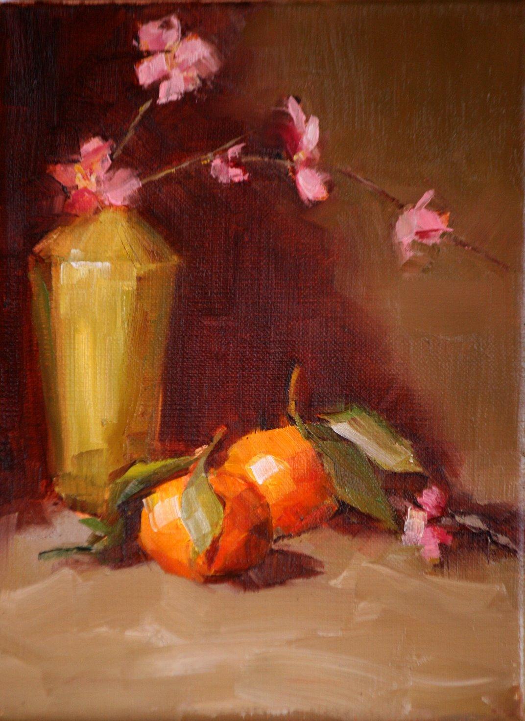 """clementines"" original fine art by Carol Carmichael"
