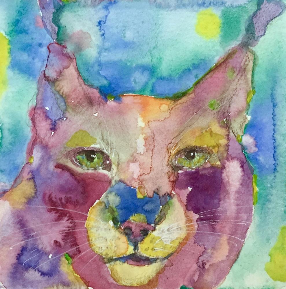 """#99 You Know Me"" original fine art by Silke Powers"