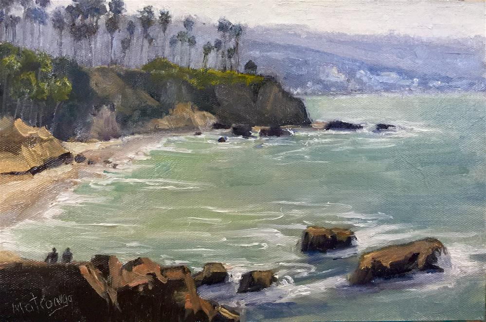 """Laguna Point Of View"" original fine art by Patricia Matranga"