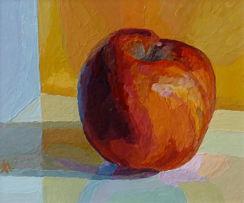 """Apple"" original fine art by Mark Allison"