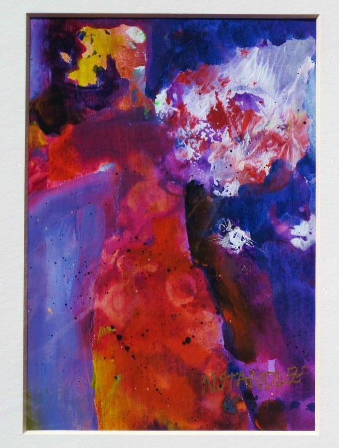 """""""Dancing Queen 12006"""" original fine art by Nancy Standlee"""
