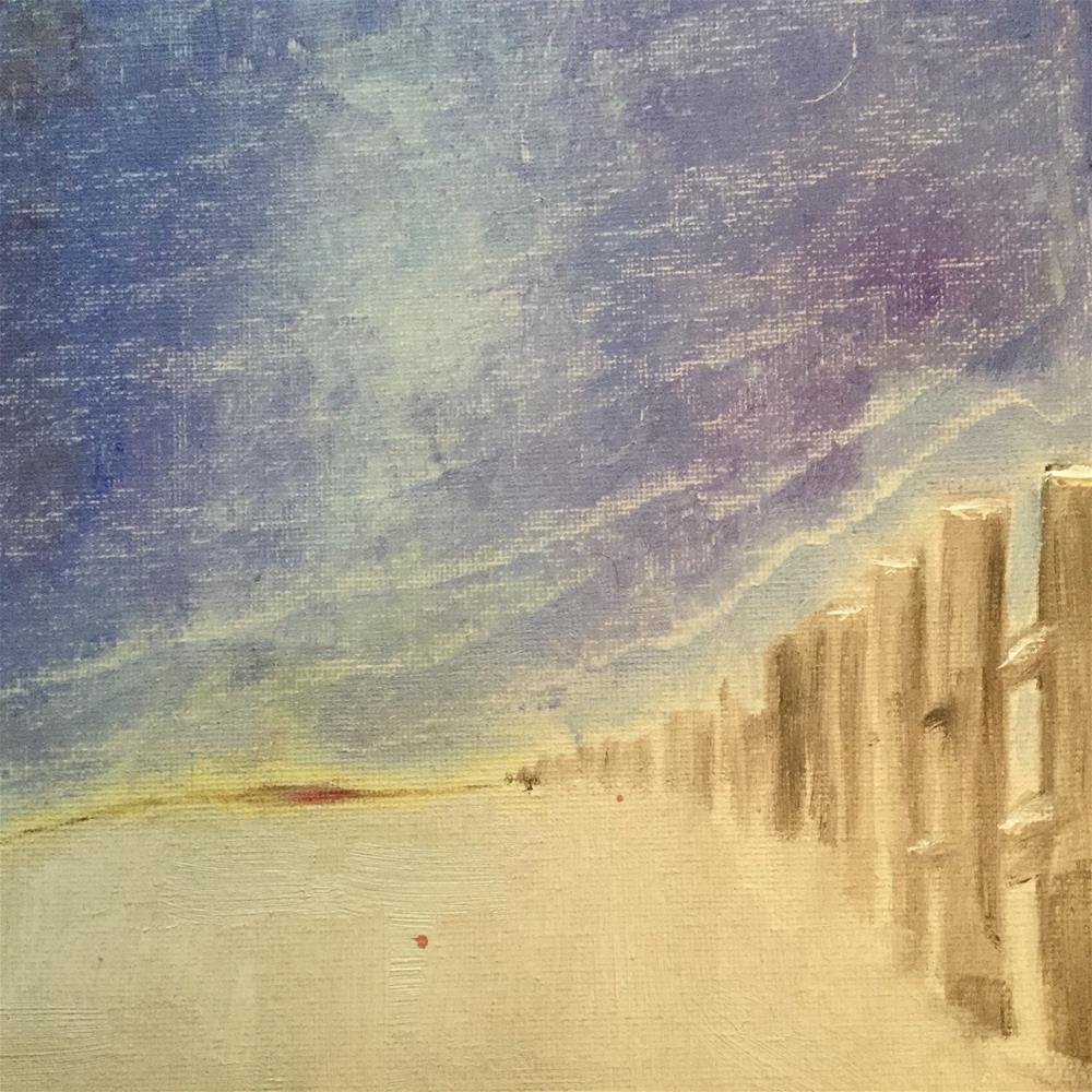 """""""Snowsky"""" original fine art by pamela kish"""