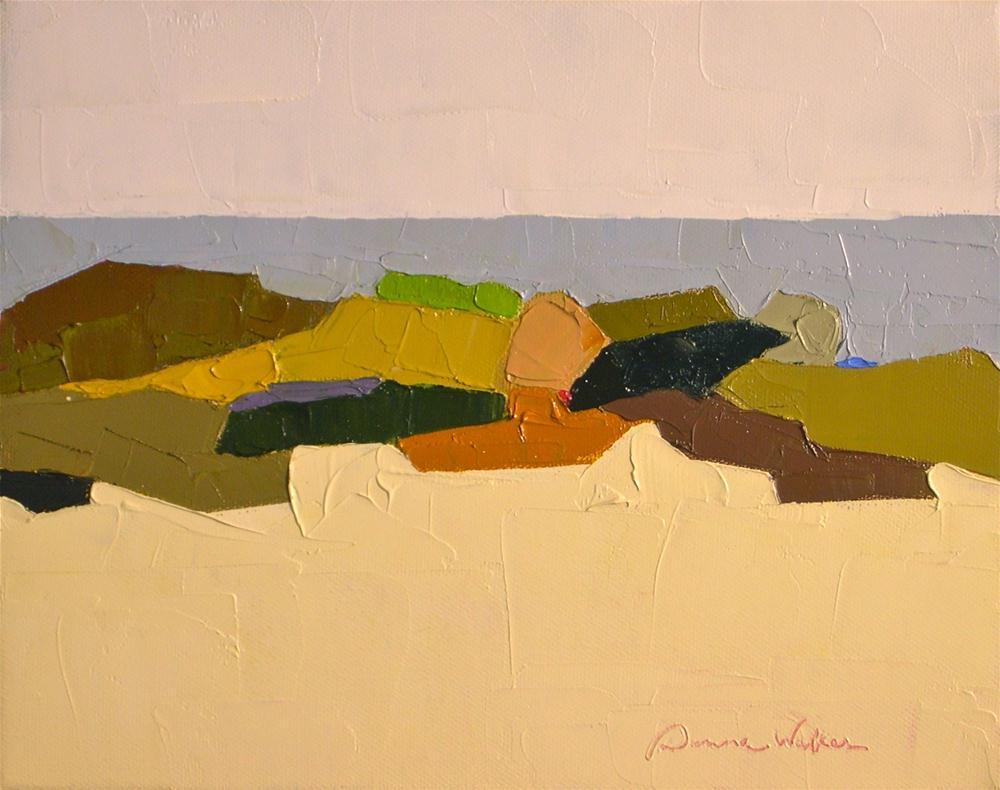 """Seaview"" original fine art by Donna Walker"
