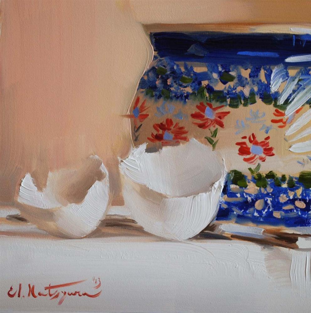 """Digression from Cooking"" original fine art by Elena Katsyura"