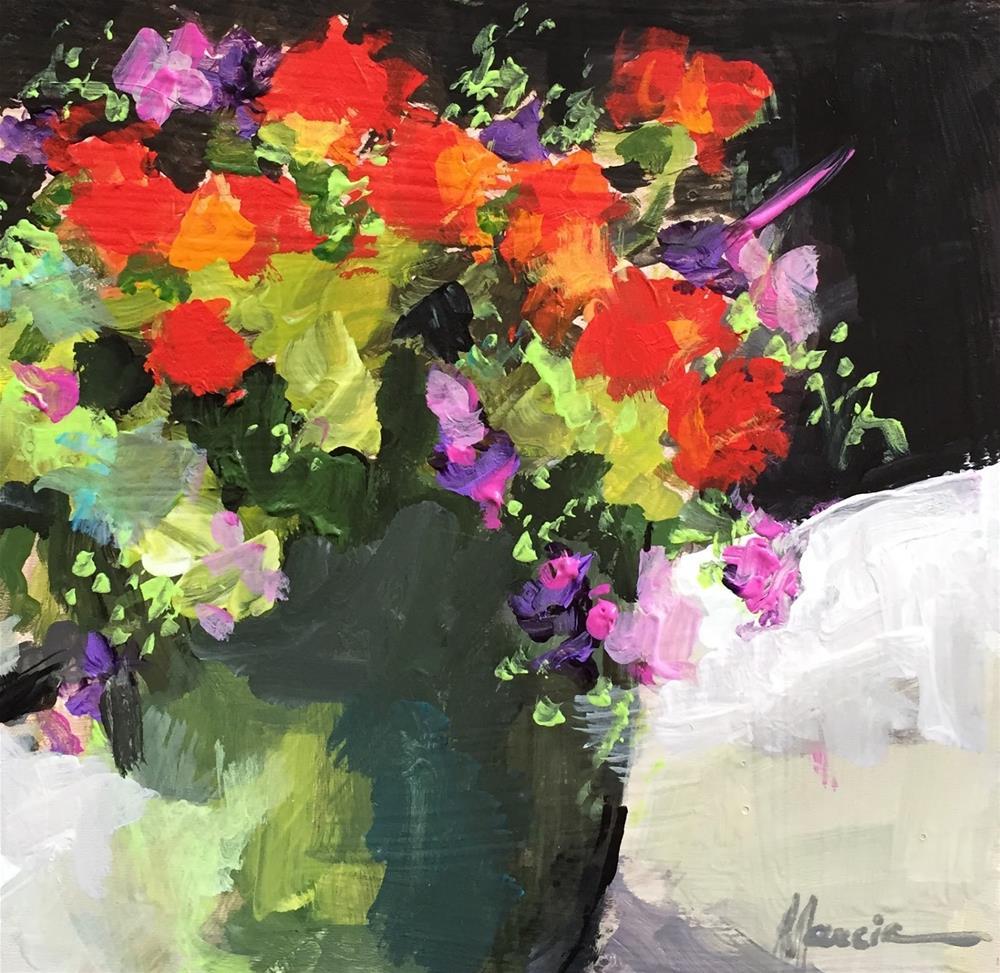 """Color Me Happy"" original fine art by Marcia Hodges"