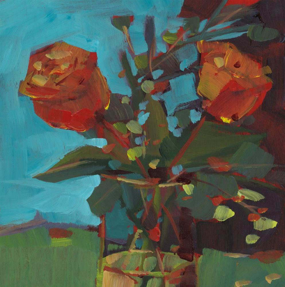 """0796: Already Thinking of Fall"" original fine art by Brian Miller"