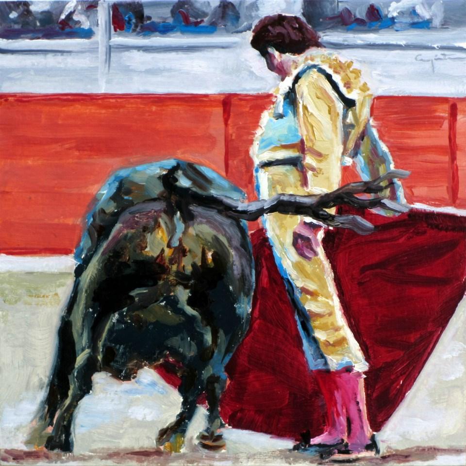 """""""Sin despeinarse"""" original fine art by Eduardo Carpintero"""