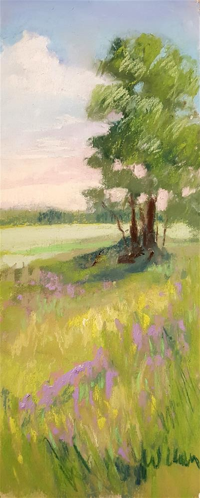 """Shade Tree"" original fine art by Judy Wilder Dalton"