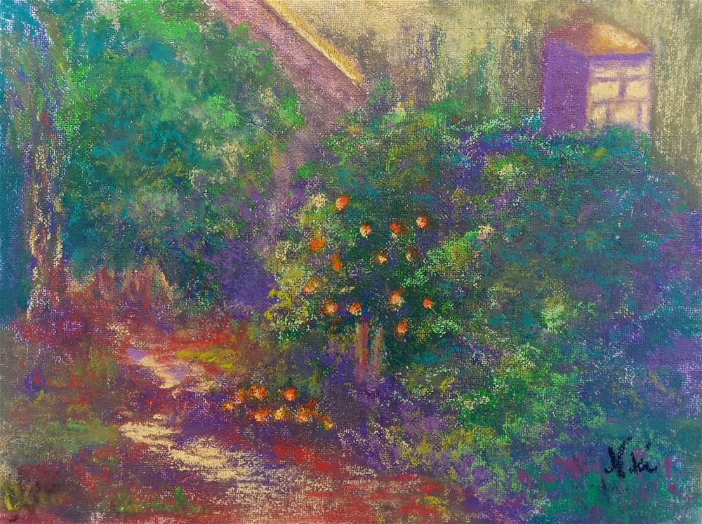 """""""Fallbrook Garden"""" original fine art by Niki Hilsabeck"""
