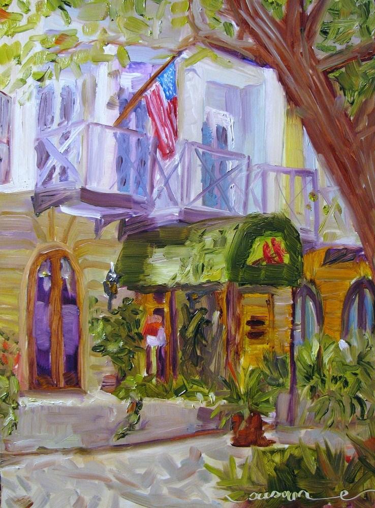 """Ruskin Park, Seaside, FL"" original fine art by Susan Elizabeth Jones"