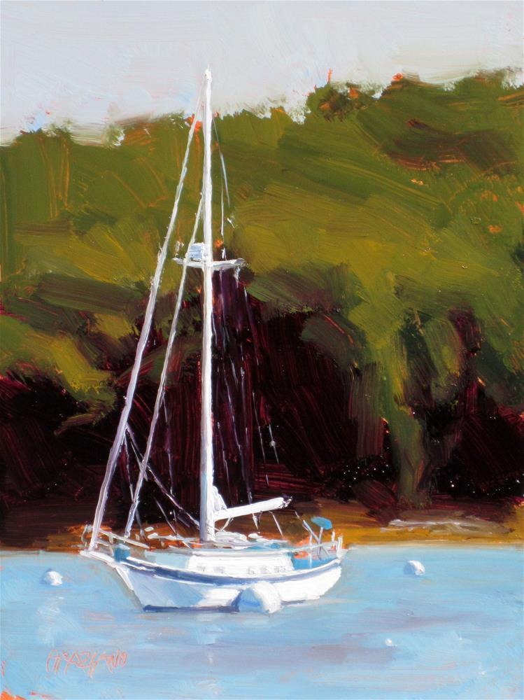 """""""snug harbor"""" original fine art by Dan Graziano"""