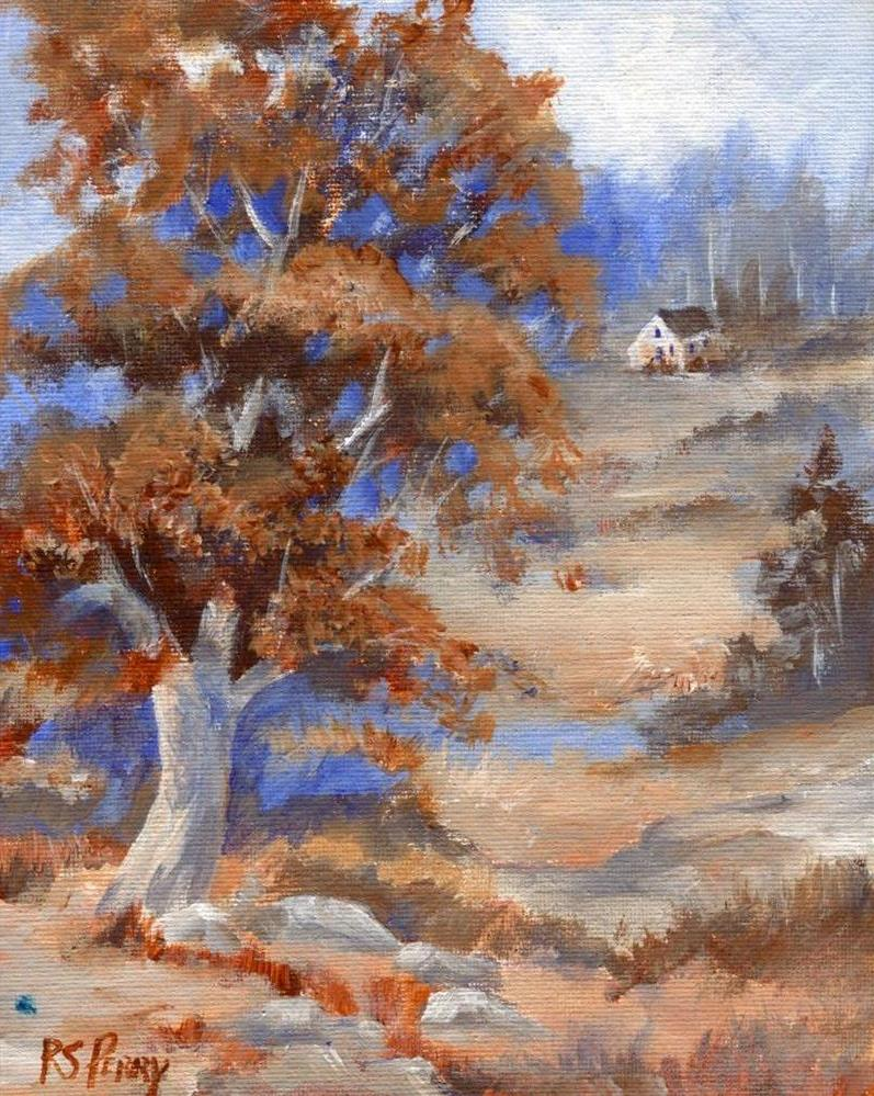 """Fall Glory "" original fine art by R. S. Perry"