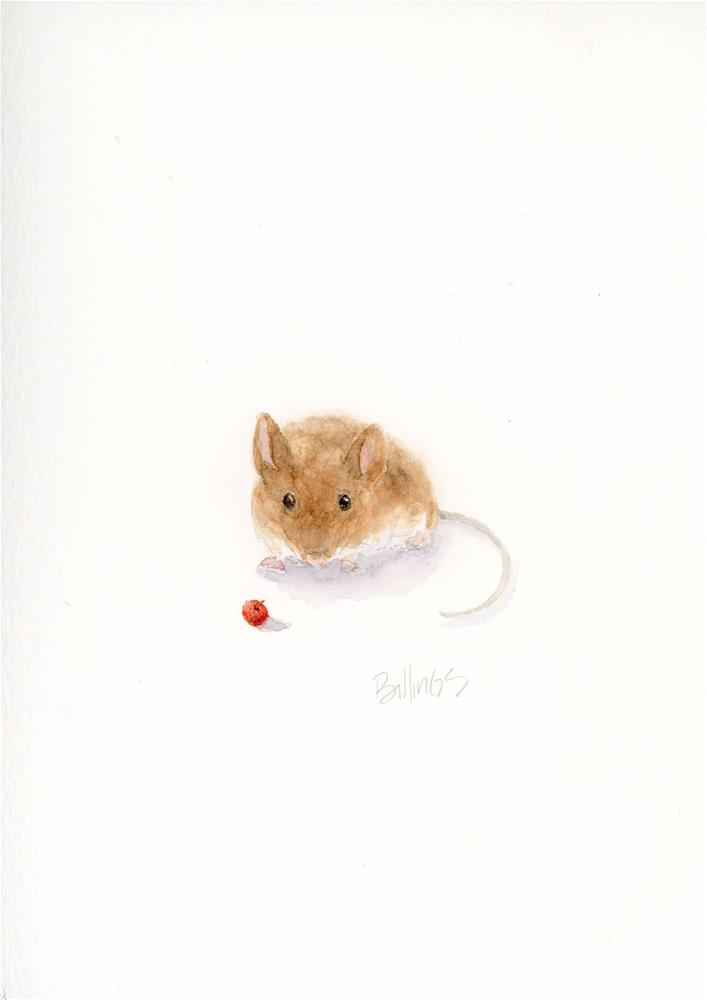 """""""Mouse Study III"""" original fine art by Susanne Billings"""